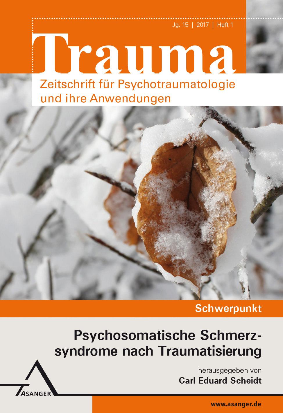 Brainspotting Heft 3-2017