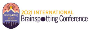 Brainspotting Conference Logo with mountain and sun