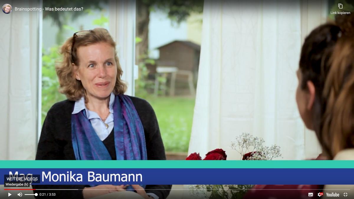 Monika Baumann erzählt über die Brainspotting-Technik